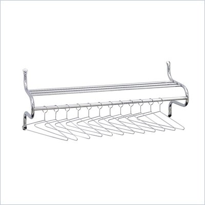 Safco 48&quot;W Coat Rack with Hangers