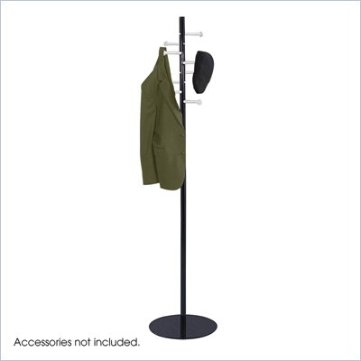 Safco Spiral Nail Head Standing Coat Rack