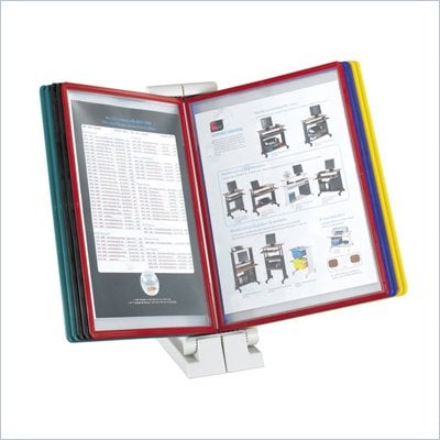 Safco QuickFind Document Holder-Desk Top