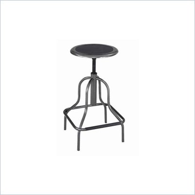 Safco Diesel Backless High Base Industrial Chair