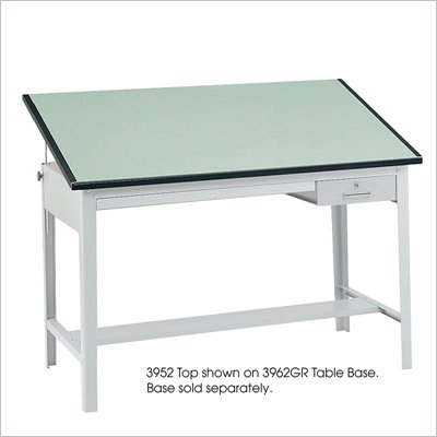 Safco 60&quot;x37.5&quot; Precision Drafting Table Top