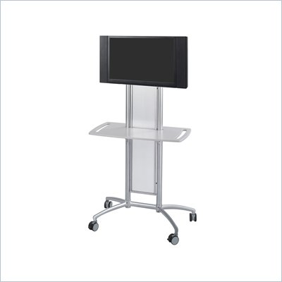 Safco Impromptu&#174; Flat Panel TV Cart in Gray