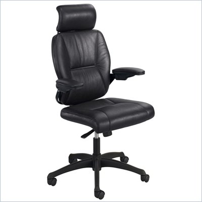 Safco Incite High Back Chair in Black