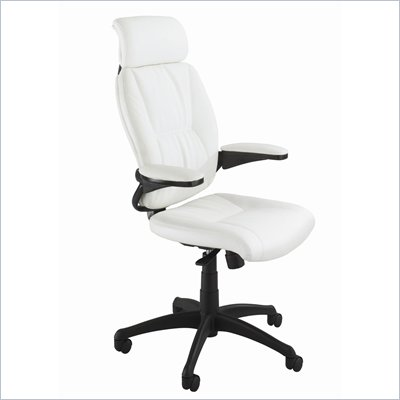 Safco Incite High Back Chair in White