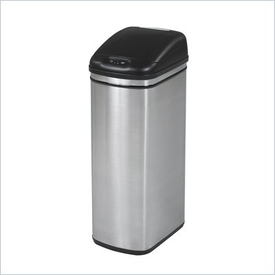 Safco 11.5 Gallon Kazaam Hands Free Waste Receptacle