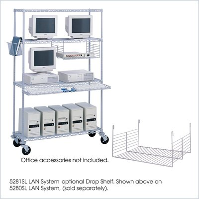 Safco Wire Drop Shelf