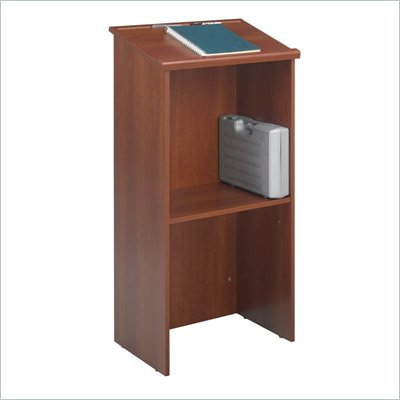 Safco Stand-Up Lectern in Cherry