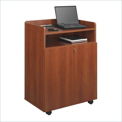 Safco Executive Presentation Stand in Cherry