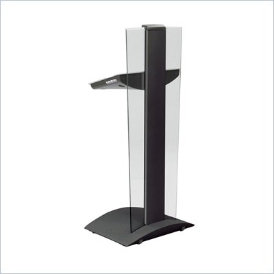 Safco Rumba Black Height Adjustable Lectern Podium