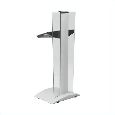 Safco Rumba Silver Height Adjustable Lectern Podium