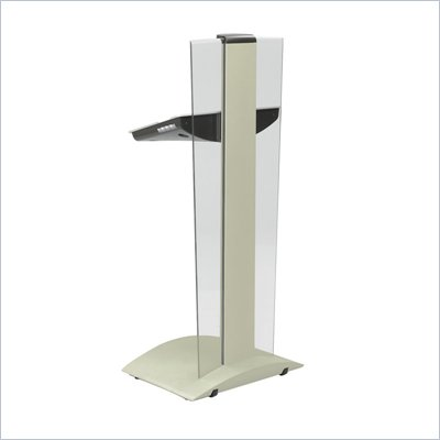 Safco Rumba Tan Height Adjustable Lectern Podium