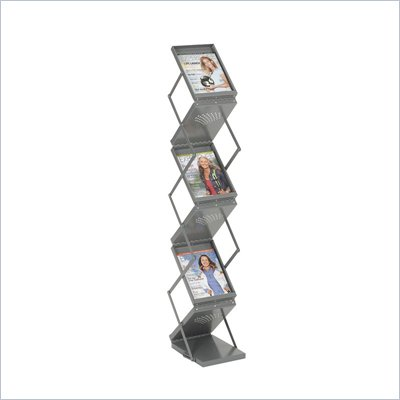 Safco Ready-Set-Go! Double Sided Folding Literature Display