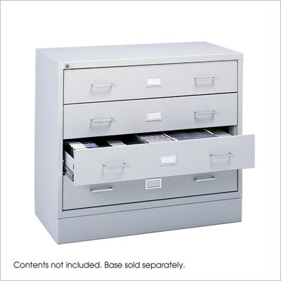 Safco Audio/Video Microform Cabinet