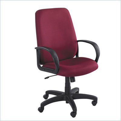 Safco Poise Burgundy Executive High-Back Office Chair