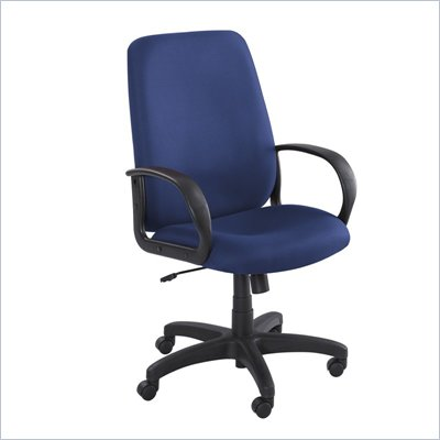 Safco Poise Blue Executive High-Back Office Chair