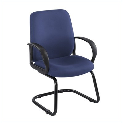 Safco Poise Blue Executive Guest Seating with Cantilever Base
