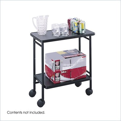 Safco Black Folding Office Cart