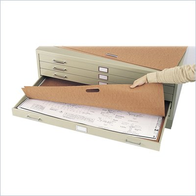Safco Flat Files Metal Portfolio for 48&quot; x 36&quot; Documents (Set of 10)