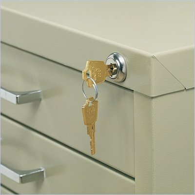 Safco Lock Kit for 5-Drawer Steel Flat File