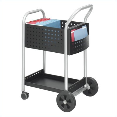"Safco Scoot 20""W Mail Cart"