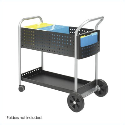 Safco Scoot 32&quot;W File Cart