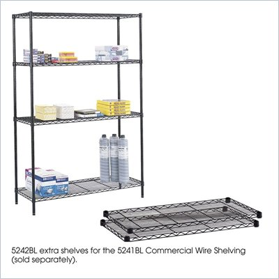 "Safco 48""x18"" Commercial Extra Shelf Pack"