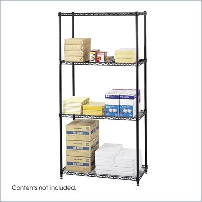 Safco 36&quot;x18&quot; Commercial Wire Shelving