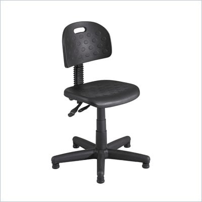 Safco Soft Tough Deluxe Black Task Chair/Drafting Stool