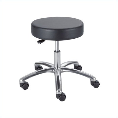Safco Black Lab Drafting Stool with Pneumatic Lift