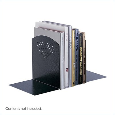 Safco Black Jumbo Bookends