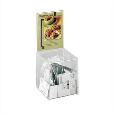 Safco Small Acrylic Collection Boxes