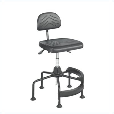 Safco Task Master Utility Industial Chair in Dark Gray