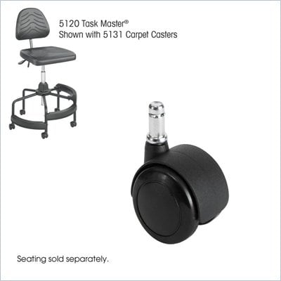 Safco Task Master Carpet Casters, 2&quot;