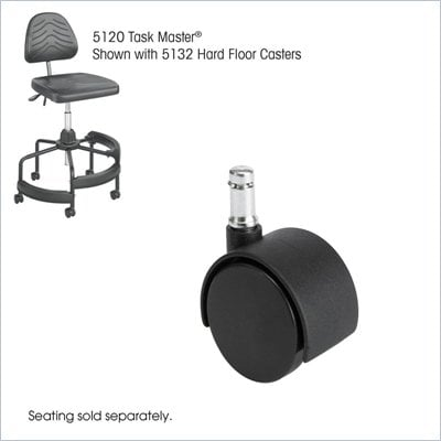 Safco Task Master Hard Floor 2&quot; Casters