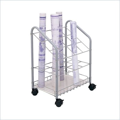 Safco Tubular Steel Wire Roll File -12 Compartments