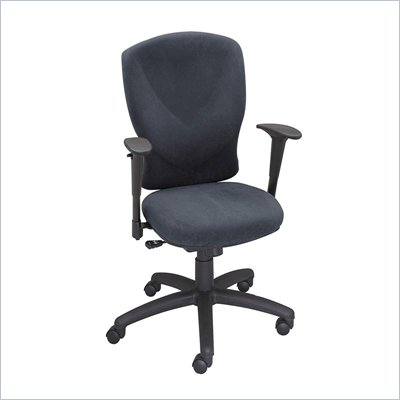 Safco Vivid High Black Back Chair