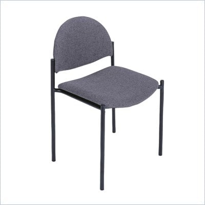 Safco Wicket Gray Stacking Chair