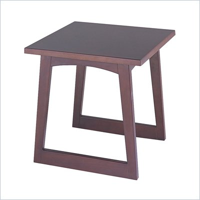 Safco Workspace Urbane Mahogany End Table