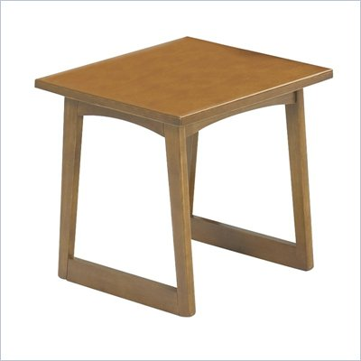 Safco Workspace Urbane Medium Oak End Table