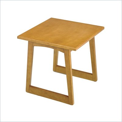Safco Workspace Urbane Medium Oak Corner Table