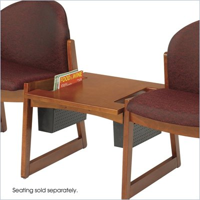 Safco Workspace Urbane Cherry Straight Connecting Table