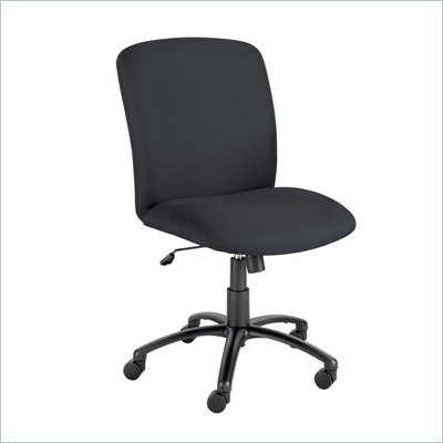 Safco Uber Big and Tall High Back Task Chair in Black