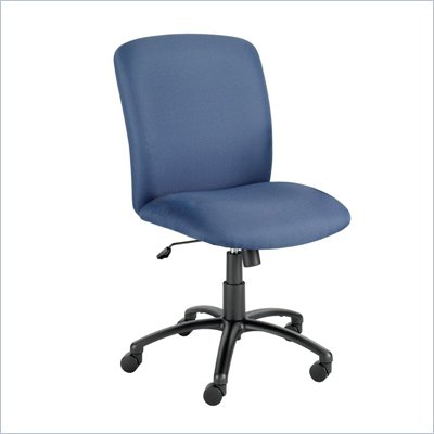 Safco Uber Big and Tall High Back Armless Plastic Chair