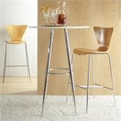 Eurostyle Bob Pub Table in Black or White
