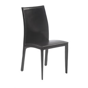 Eurostyle Dafney Dining Chair in Black
