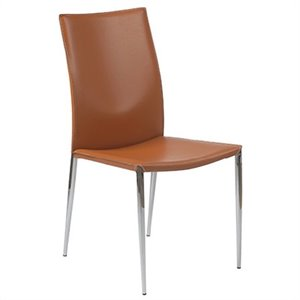 Eurostyle Max Leather Dining Chair