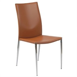 Eurostyle Max Leather Dining Side Chair