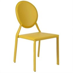 Eurostyle Isabella  Dining Chair in Yellow