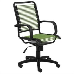Eurostyle Bradley Bungie Office Chair in Green/Graphite Black
