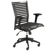 Eurostyle Bungie Pro Flat Chair in Black/Black